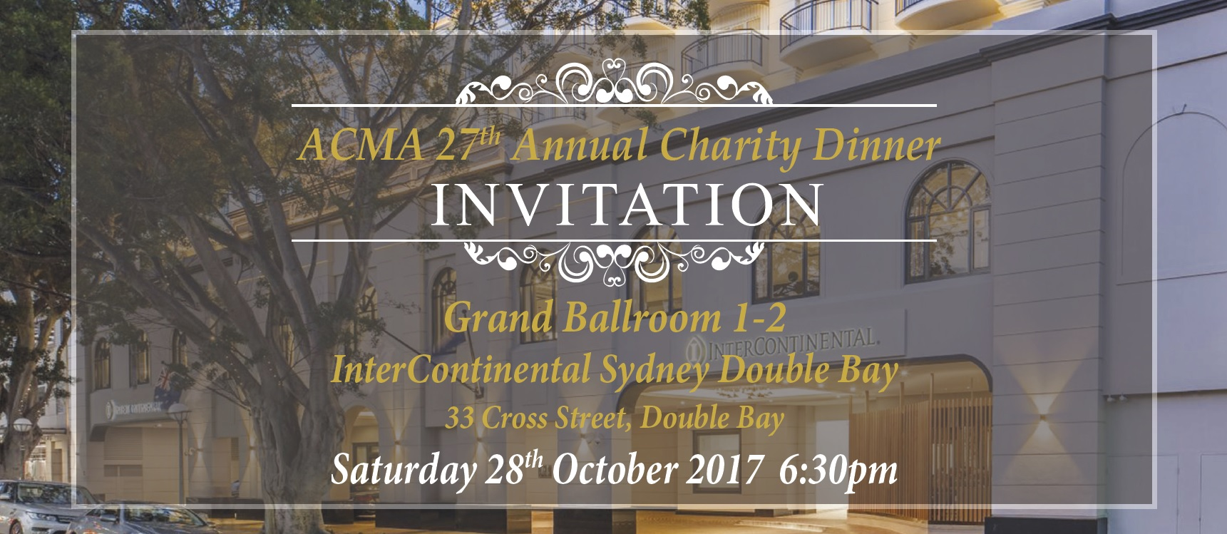 ACMA 27th Annual Charity Dinner