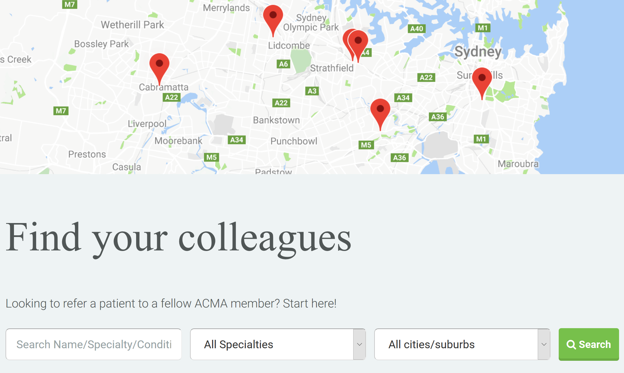 ACMA launches members directory